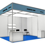 Exhibition stall, modular trade show displays, booths, exhibits, stands, retractable banner stands, reusable stalls, counters, kiosks, tents and flags.