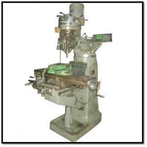 Milling Machine to drill holes on Metal Sheets, Acrylic sheets