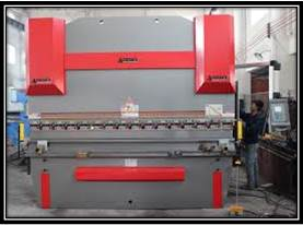 Hydraulic Bending Machine to bend Stainless Steel, Mild Steel, Aluminium