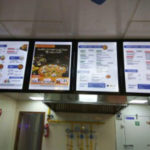 Menu Boards, Clip-ons, Aluminium boards, Restaurant Menu Boards, Point of Purchase signs, edgelit signs